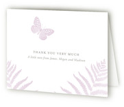 Fauna Birth Announcements Thank You Cards