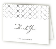Pure Modern Birth Announcements Thank You Cards