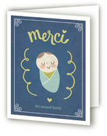Je T'aime Bebe Birth Announcements Thank You Cards