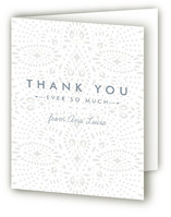Lacy Paper Birth Announcements Thank You Cards
