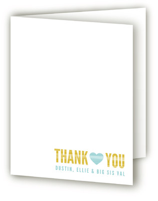 My Little Sib Birth Announcements Thank You Cards