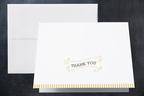Vortice Birth Announcements Thank You Cards