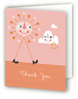 Mr. Sunshine Birth Announcements Thank You Cards