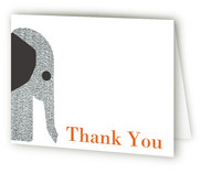 Wee Tweed Elephant Birth Announcements Thank You Cards