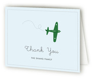 Fly By Baby Birth Announcements Thank You Cards