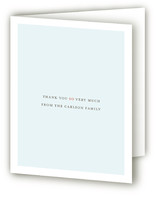 Poetic Birth Announcements Thank You Cards