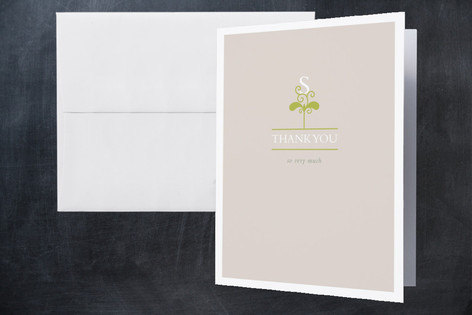 our little sprout Birth Announcements Thank You Cards
