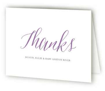 Angelic Welcome Birth Announcements Thank You Cards