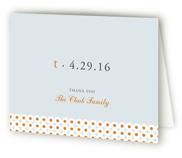 Oh-So-Mod Birth Announcements Thank You Cards