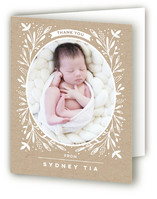 Baby Foliage Frame by Bonjour Paper
