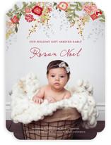 Fleur de Noel Birth Announcements