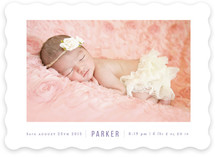 Simply Stated Birth Announcements