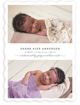 Simple & Sweet Birth Announcements