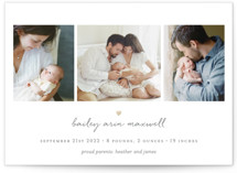 Teeny Tiny Love Birth Announcements
