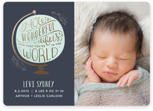 How Wonderful Birth Announcements