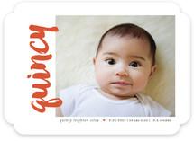 Name Sideways Birth Announcements
