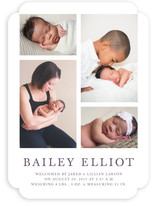 Photo Collage Birth Announcements