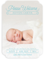 Please Welcome Birth Announcements