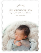 Simply Welcome Birth Announcements