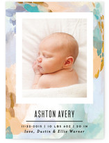 Canvas Snapshot Birth Announcements