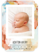 Canvas Snapshot Birth Announcements