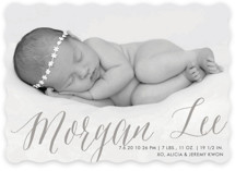 Sweetest Gift Birth Announcements