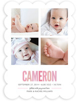 Mosaic Moniker Birth Announcements