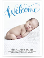 A Big Welcome Birth Announcements