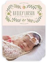 Sweet Little Ladybug Birth Announcements
