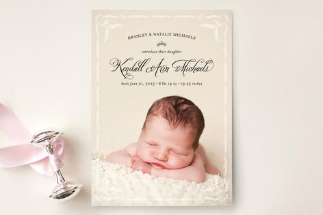 Frame So Sweet Birth Announcements