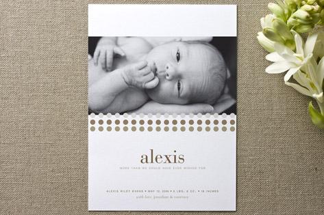 Alexis Birth Announcements