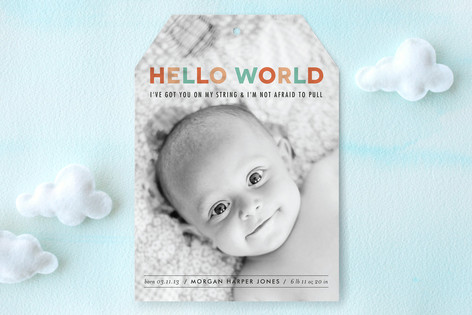 Got the World on a String Birth Announcements