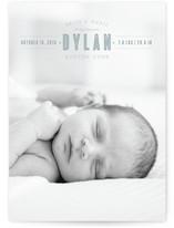 Inline Birth Announcements