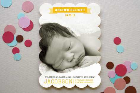 Archer Birth Announcements