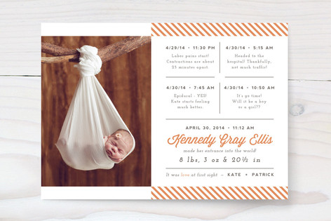 The Main Event Birth Announcements