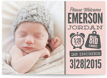 Weights and Measures Birth Announcements