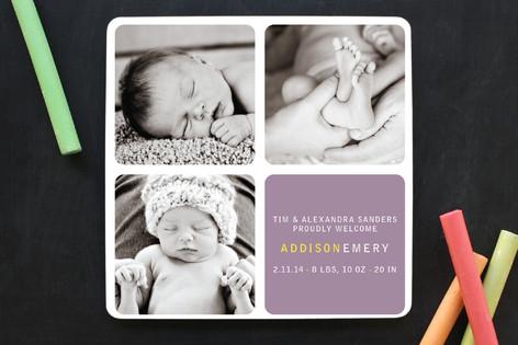 Checkers Birth Announcements