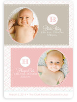 Doubled in Joy Birth Announcements