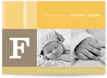 Elliott Stripe Birth Announcements