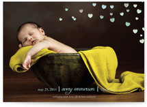 Sweet Hearts Birth Announcements