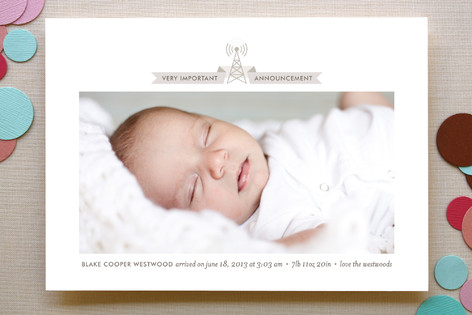 Broadcast Birth Announcements