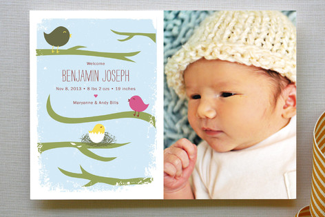 Family Tree Birth Announcements