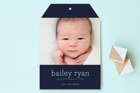 Luxe Birth Announcements
