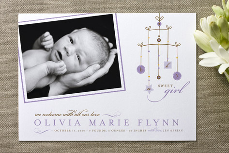 Mobile Birth Announcements