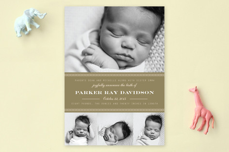 Oliver Birth Announcements