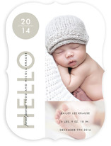 Baby New Year Birth Announcements