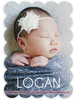 Big Baby Name Birth Announcements