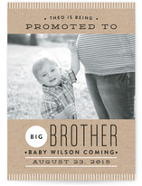 Big Promotion Birth Announcements