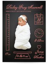 Petite Measurements Birth Announcements