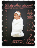 Petite Measurements Birth Announcements